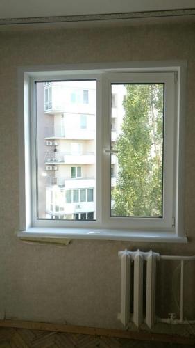 Установка балконного блока, Киев, Ушинского